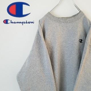 チャンピオン(Champion)のチャンピオン  スウェット  刺繍ロゴ  オーバーサイズ  スウェパカ(スウェット)
