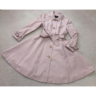 トッカ(TOCCA)のTOCCA トッカ ♡ 春コート スプリングコート サイズ0 ピンクベージュ系(スプリングコート)