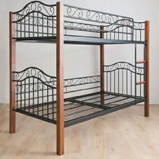 ニトリ(ニトリ)のニトリ アイアン調 2段ベッド 二段ベッド(ロフトベッド/システムベッド)