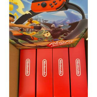 ニンテンドースイッチ(Nintendo Switch)のニンテンドースイッチ  リングフィットアドベンチャー(家庭用ゲーム機本体)