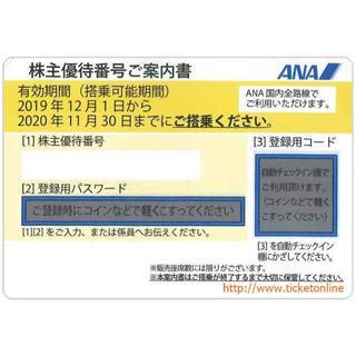 エーエヌエー(ゼンニッポンクウユ)(ANA(全日本空輸))のANA株主優待券(ショッピング)