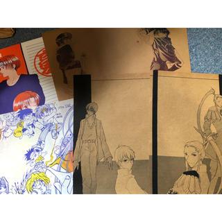 同人便箋 格闘ゲーム KOF ジャスティス学園 闘神伝 月華の剣士など(その他)