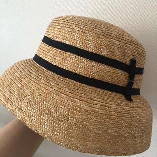 ストロベリーフィールズ(STRAWBERRY-FIELDS)のストロベリーフィールズ 帽子(麦わら帽子/ストローハット)