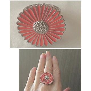 💍 ring  ✨未使用 お花 🌺💍可愛い✨レアーお品物(リング(指輪))