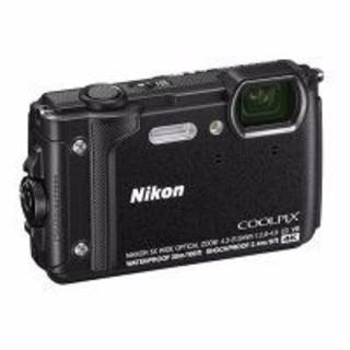 ニコン(Nikon)のNikon ニコン COOLPIX W300 デジタルカメラ ブラック 新品(コンパクトデジタルカメラ)