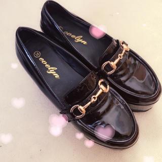 エブリン(evelyn)のevelyn ビットローファー(ローファー/革靴)