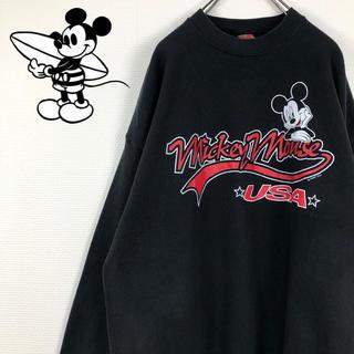 ディズニー(Disney)のミッキー メキシコ製 プリント ディズニー 希少 スウェット トレーナー(スウェット)