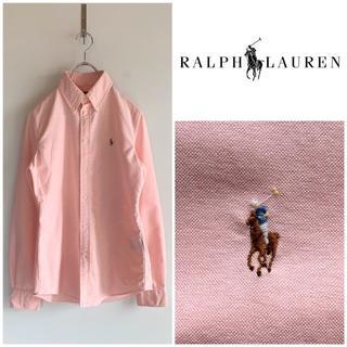 ラルフローレン(Ralph Lauren)のラルフローレン マルチポニー刺繍 ピンクオックスフォード BDシャツ(シャツ/ブラウス(半袖/袖なし))