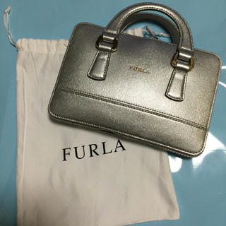 フルラ(Furla)の新品 未使用 フルラ エコバッグ ブラック/シルバー FURLA(エコバッグ)