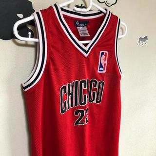 51・NBA・シカゴ・ジョーダン 背番号・ダンスやバスケ・スポーツMIXに。(ひざ丈ワンピース)
