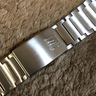 インターナショナルウォッチカンパニー(IWC)の美品 iwc  純正 ベルト ブレス 22mm 超音波洗浄(金属ベルト)