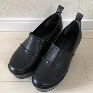 グレースコンチネンタル(GRACE CONTINENTAL)のグレースコンチネンタル ローファーブラック(ローファー/革靴)