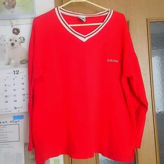 アディダス(adidas)の1月3日削除)古着 アディダスTシャツ(Tシャツ(長袖/七分))