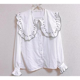 メリージェニー(merry jenny)の韓国 ✩ デザインシャツ(シャツ/ブラウス(長袖/七分))