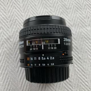 ニコン(Nikon)の【美品】Nikon 28mm f/2.8D AF Nikkor Lens (レンズ(単焦点))