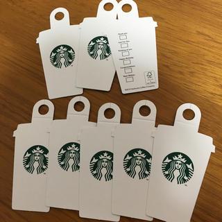 スターバックスコーヒー(Starbucks Coffee)のスターバックス ギフト用メッセージカード  スタバ タグ(カード/レター/ラッピング)