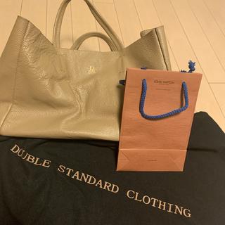 ダブルスタンダードクロージング(DOUBLE STANDARD CLOTHING)の難あり ダブルスタンダードクロージングバック ルイヴィトンミニペーパーバッグ付(トートバッグ)
