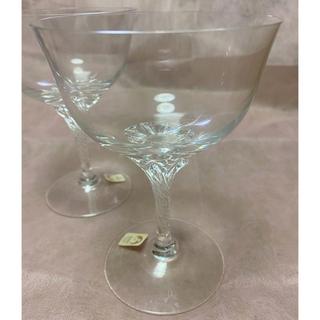 トウヨウササキガラス(東洋佐々木ガラス)の〈未使用〉ササキクリスタル シャンパングラス 4個セット(グラス/カップ)