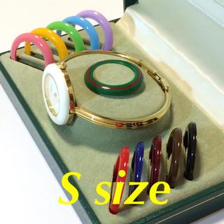 グッチ(Gucci)の6.超美品 グッチ GUCCI 時計 チェンジベゼル(腕時計)