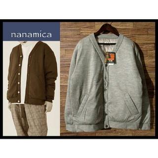 ナナミカ(nanamica)の新品 定価4.6万 ナナミカ 19AW 高機能 光電子 ダウン カーディガン L(カーディガン)