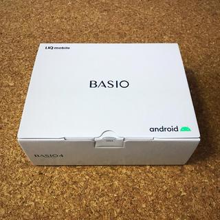 キョウセラ(京セラ)の新品未開封 BASIO4(スマートフォン本体)