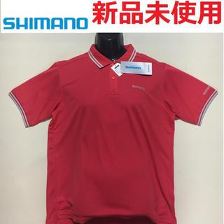 シマノ(SHIMANO)の新品未使用 SHIMANO シマノ ポロシャツ  ロッソ XXLサイズ(ウエア)