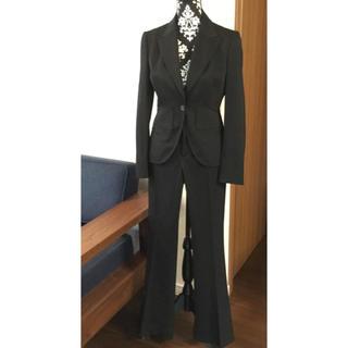 グッチ(Gucci)の美麗♫グッチ★クールな最高級パンツスーツ★イタリア製中古美品ストレッチウール(スーツ)