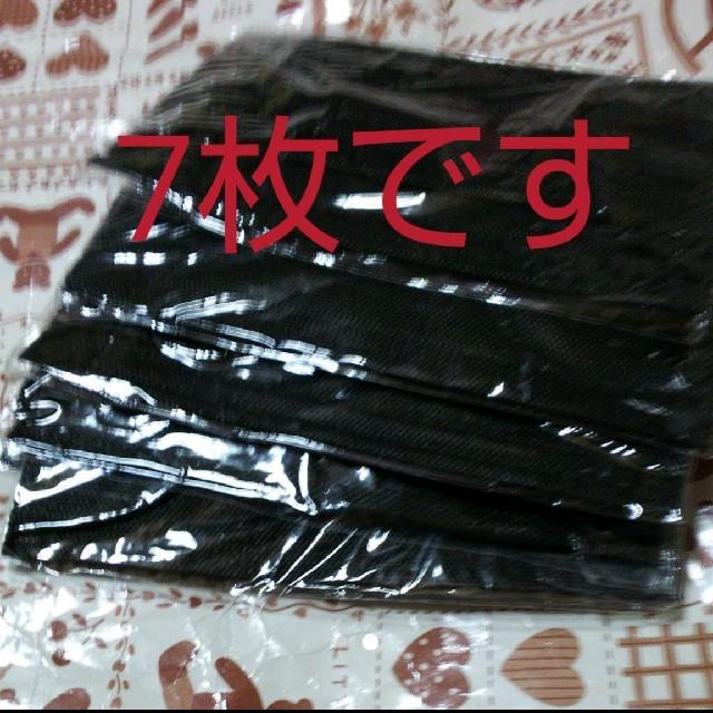 マスク 効果 なし - 使い捨てマスク ブラックマスクの通販 by モモ2302's shop