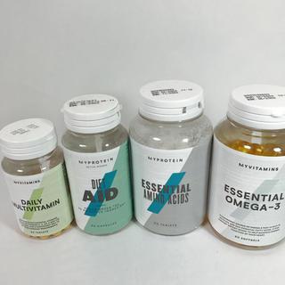 マイプロテイン(MYPROTEIN)の新品 未開封 マイプロテイン 4点セット(ビタミン)
