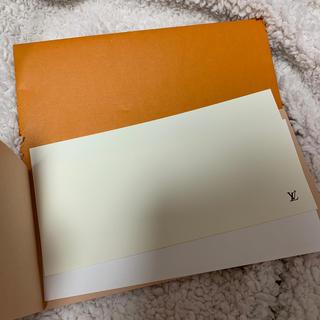 ルイヴィトン(LOUIS VUITTON)のヴィトン メッセージカード封筒セット(カード/レター/ラッピング)