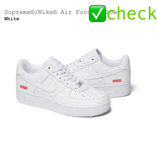 シュプリーム(Supreme)のSupreme®/Nike® Air Force 1 Low us9.5(スニーカー)