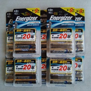 エナジャイザー(Energizer)のエナジャイザー リチウム乾電池 単3(バッテリー/充電器)