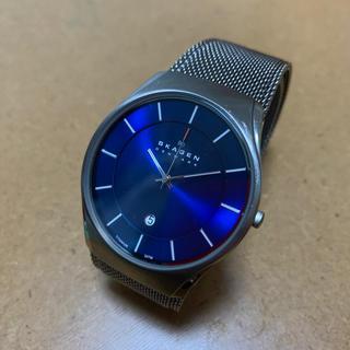 スカーゲン(SKAGEN)の壊れた腕時計(腕時計(アナログ))