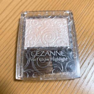 セザンヌケショウヒン(CEZANNE(セザンヌ化粧品))のセザンヌ パールグロウハイライト 01シャンパンベージュ(その他)