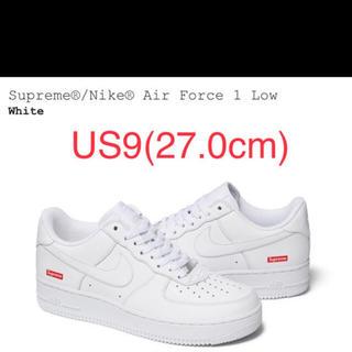 シュプリーム(Supreme)のレシート原本付 27.0cm Supreme Nike Air Force 1(スニーカー)
