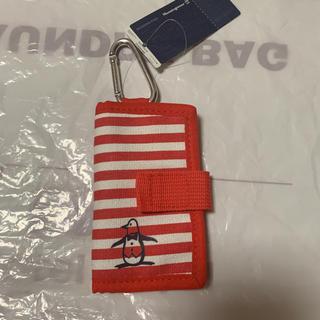 マンシングウェア(Munsingwear)の★最終価格★ マンシングウェア 小物入れ 赤ボーダー ゴルフ(ウエア)