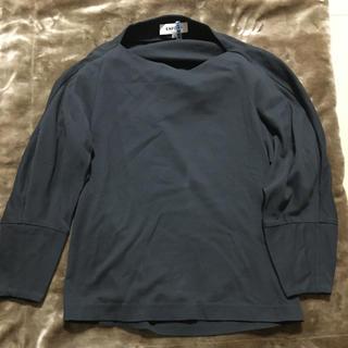 エンフォルド(ENFOLD)のENFOLDデザインカットソー(Tシャツ(長袖/七分))