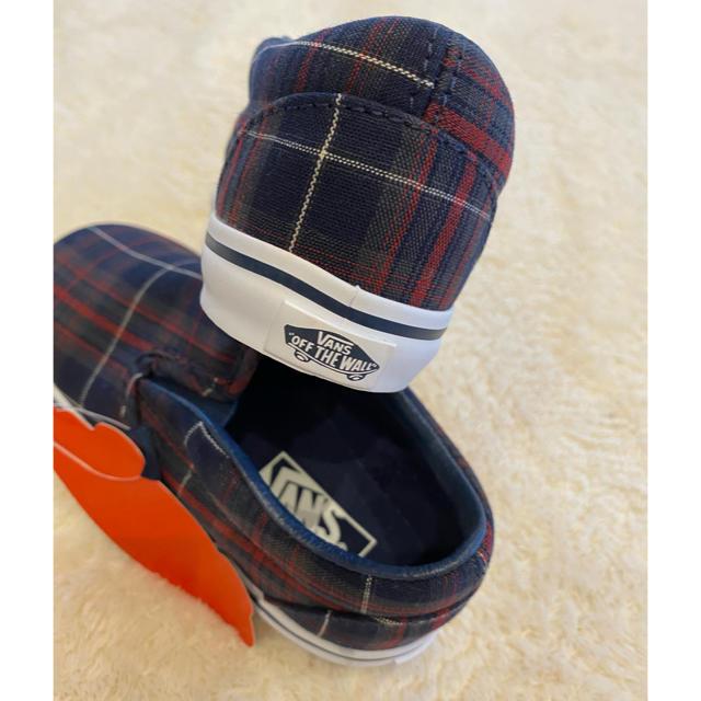 VANS(ヴァンズ)のvans 14cm スニーカー キッズ/ベビー/マタニティのベビー靴/シューズ(~14cm)(スリッポン)の商品写真