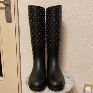 サンローラン(Saint Laurent)の新品 サンローラン ビジュー長靴(レインブーツ/長靴)