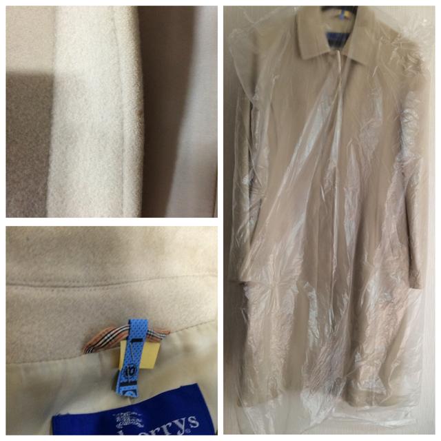 BURBERRY(バーバリー)のバーバリーブルーレーベル ウールコート レディースのジャケット/アウター(ロングコート)の商品写真