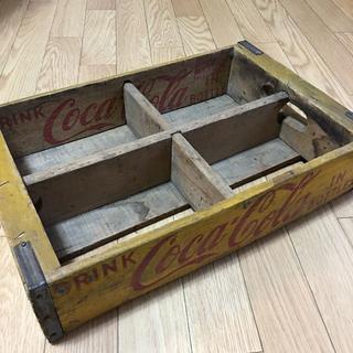 コカコーラ(コカ・コーラ)のオレンジ♡様専用 Coca Cola コカコーラ ヴィンテージ 木箱 1 & 2(ノベルティグッズ)
