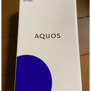 アクオス(AQUOS)のSHARP AQUOS sense2 SH-M08 アッシュイエロー(スマートフォン本体)