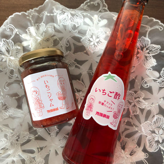 🍓いちご酢&いちごジャム セット(缶詰/瓶詰)