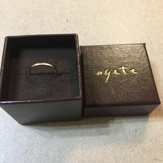 アガット(agete)のアガット ピンキーリング#3(リング(指輪))