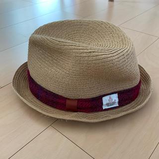 ハリーウィンストン(HARRY WINSTON)のキッズ ハット 麦わら帽子(帽子)