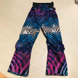 バートン(BURTON)のスノボウェア ズボンのみ Lサイズ 青紫 スノーボード パンツ ボトムス(ウエア/装備)