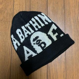 アベイシングエイプ(A BATHING APE)のBAPE エイプ ニット帽 ビーニー(ニット帽/ビーニー)