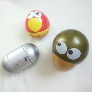 値下げ! キョロちゃん おもちゃのカンヅメ 未来缶 黄金のキョロ缶セット