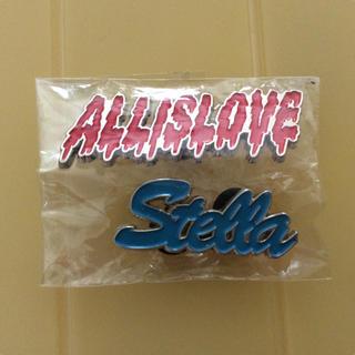 ステラマッカートニー(Stella McCartney)のステラマッカートニーのピンバッチ2個セット(その他)