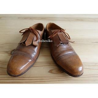 Paul Harnden - スコットランド製 PAUL HARNDEN レザー 短靴 ポールハーデン